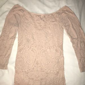 Size XS/S Laser Cut Free People Top